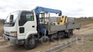 Услуги грузовика с краном (3 (кран)/5 (борт) тонн)