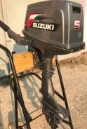 Suzuki. 5,00л.с., 2-тактный, бензиновый, нога S (381 мм), 2004 год год