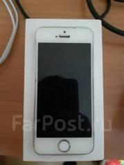 Apple iPhone 5s. Б/у, 32 Гб, Белый