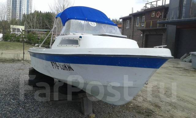 Yamaha Fish 17. Год: 1995 год, длина 5,10м., двигатель подвесной, 1,00л.с., бензин