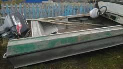 Казанка-5. Год: 2001 год, длина 4,00м., двигатель подвесной, 40,00л.с., бензин