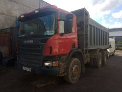 Scania P380. Самосвал Scania P 380, 11 000куб. см.