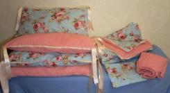 Бортики, подушки, буквы