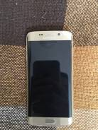 Samsung Galaxy S6 Edge. Б/у, 32 Гб, Золотой, 4G LTE