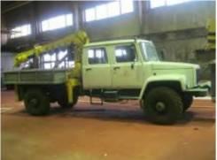 ГАЗ 3308 Садко. Тяжелый грузовой фургон ГАЗ 3308