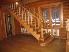 Изготовление лестниц, дверей, мебели и другое из массива дерева.