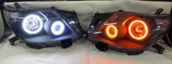 Тюнингованные фары оригинал наToyota Land Cruiser Prado 150