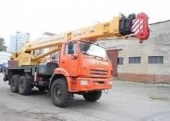Галичанин КС-55713-5Л. КС 55713-5Л автокран 25т. (Камаз-43118), 25 000кг., 24м.