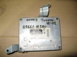 Блок управления двс. Toyota Corsa, EL51 Двигатель 4EFE