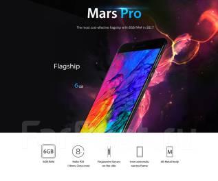 Vernee Mars. Новый, 64 Гб, Серый, 4G LTE