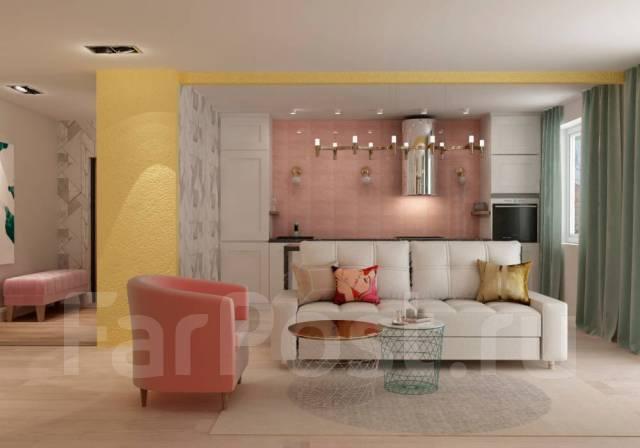 Дизайн интерьера. Визуализация, планировка, подбор мебели = 700р кв. м.