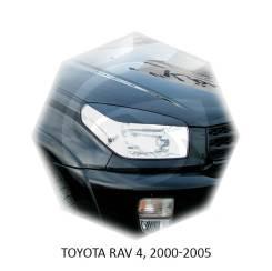 Накладка на фару. Toyota RAV4, ACA20, ACA20W, ACA21, ACA21W, ACA23, ACA26, ACA28, ACA30, ACA31, ACA31W, ACA33, ACA35, ACA36W, ACA38, ALA30, ALA40, ALA...