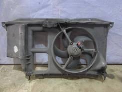 Вентилятор охлаждения радиатора. Peugeot 206, 2B, 2D, 2E/K Двигатели: DV4TD, DW10TD, EW10J4, TU1JP, TU3A, TU3JP, TU5JP4