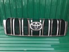 Решетка радиатора. Toyota Land Cruiser Prado, GRJ150, GRJ150L, GRJ150W, GRJ151, GRJ151W, KDJ150, KDJ150L, KDJ155, LJ150, TRJ150, TRJ150L, TRJ150W, TRJ...