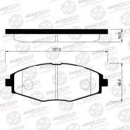 Колодка тормозная дисковая. Chevrolet Lanos Chevrolet Spark Daewoo Matiz Daewoo Lanos Двигатели: L13, L43, L44, LV8, LX6, L11, LBF, LHD