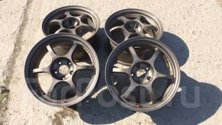 "Black Racing. 7.5x17"", 5x114.30, ET35"
