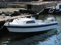 Yamaha Fisher. Год: 1988 год, длина 5,00м., двигатель подвесной, 60,00л.с., бензин