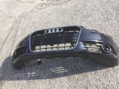 Бампер. Audi S Audi A6, 4G2/C7, 4G5/C7, 4G5/С7 Двигатели: CDNB, CDUC, CDUD, CGLC, CGWD, CGXB, CHJA, CHVA, CKVB, CKVC, CMGB, CNHA, CREC, CTUA, CYGA, CY...