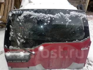 Дверь багажника. Mitsubishi Pajero iO, H67W