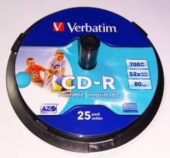 CD-R Verbatim 52x 8 шт