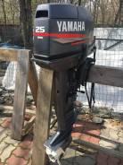 Yamaha. 25,00л.с., 2-тактный, бензиновый, нога X (635 мм), 2005 год год