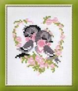 Набор для вышивания (Птички), пакет