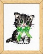 """Набор для вышивания """"Бантик"""", пакет (котенок)"""