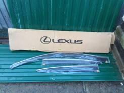 Ветровики на двери Lexus CT200h 08611-76010 задний левый. Lexus CT200h, ZWA10 Двигатели: 2ZRFXE, 5ZRFXE