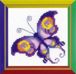 Набор для вышивания Бабочка,пакет