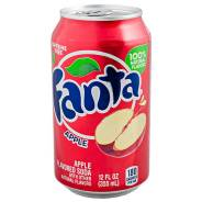Напиток FANTA APPLE 355 МЛ Ж/Б