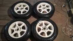 """Диски Bridgestone WS950 6,5х15 4/5x114,3 + шины 195/65R15. 6.5x15"""" 4x114.30, 5x114.30 ET32"""