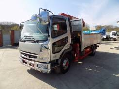 Mitsubishi Fuso Fighter. Mitsubishi FUSO Fighter 2005г с крановой установкой UNIC 374, 7 500 куб. см., 5 000 кг.