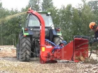 Утилизация дробилка деревьев веток Farmi forest (вывоз деревьев).