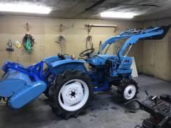 Hinomoto. Трактор с ковшом (КУН) e25d 4WD 25л. с.