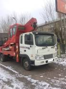 Hyundai Mega Truck. Автовышка 32 метрв, 8 000куб. см., 32м.
