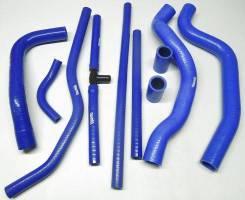 Патрубок двигателя ВАЗ 2110 синий силикон PROFI из 10шт (радиатора, печки, расширит. бачка, вентиляции картера)