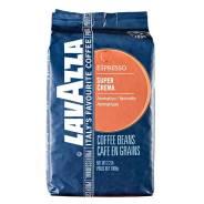 Кофе LAVAZZA SUPER CREMA ESPRESSO 1 кг зерно