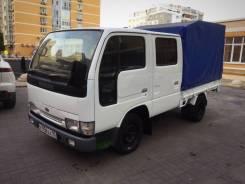 Nissan Atlas. Продаётся двухкабинный грузовик , 3 200куб. см., 1 500кг.