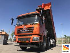 Shaanxi Shacman. Китайский грузовик Shaсman SX3316DT366 8x4 375 л. с., 11 596куб. см., 23 500кг.