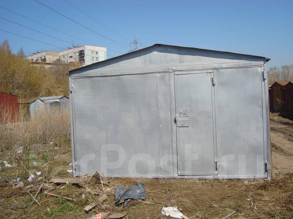 Гараж металлический бердск средний вес железный гараж