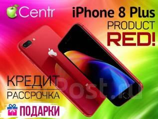 Apple iPhone 8 Plus. Новый, 64 Гб, Красный, 4G LTE, Защищенный. Под заказ