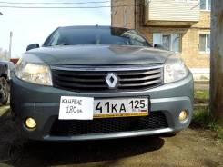 Renault Sandero. механика, передний, 1.6 (84л.с.), бензин, 81 000тыс. км