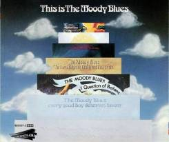 """2CD Moody Blues """"This is the Moody Blues 1967-1972"""" 1989 Germany"""