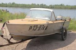 Прогресс-2М. Год: 1979 год, длина 4,75м., двигатель подвесной, 25,00л.с., бензин