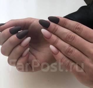 Гель лак, Наращивание ногтей