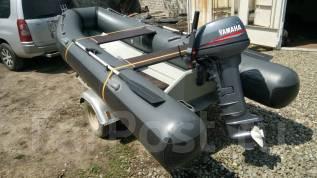 Лодка Риб аллюминиевая 3,60 с мотором Ямаха 9,9. Год: 2018 год, длина 3,60м., двигатель подвесной, 9,90л.с., бензин