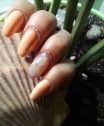 Наращивание ногтей , покрытие гель-лаком