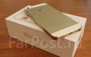 Apple iPhone 5s. Б/у, 32 Гб, Желтый, Золотой