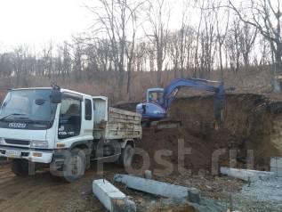 Спил, корчевка, вывоз деревьев, подготовка участков под строительство.