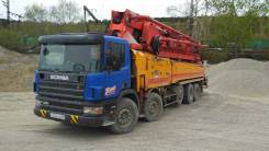 Scania. Автобетононасос 52м, 10 640куб. см., 52м.